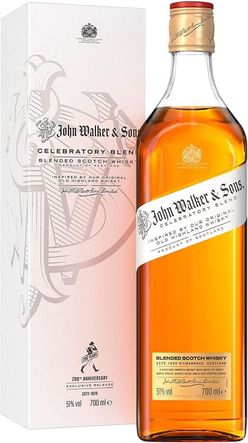Johnnie Walker Celebratory Blend 0,75l 51% GB L.E.