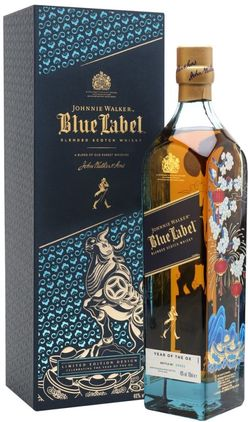 Johnnie Walker Blue Label Year of the Ox 0,7l 40% GB L.E.