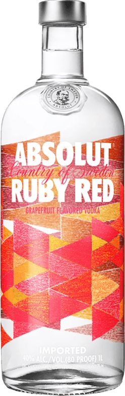 Absolut Ruby Red 40% 1l